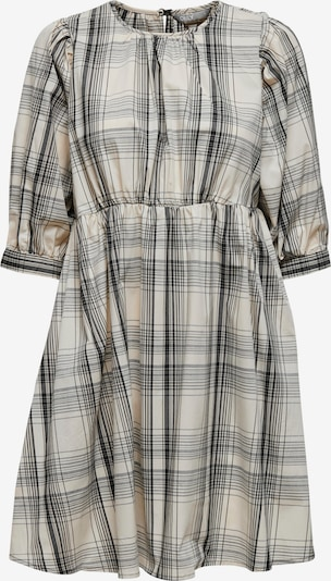 ONLY Kleid 'Elly' in beige / grau / schwarz / naturweiß, Produktansicht
