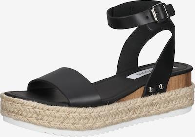 Sandale cu baretă 'Chaser' STEVE MADDEN pe alb kitt / negru, Vizualizare produs