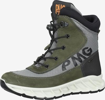 PRIMIGI Stiefel in dunkelgrau / grün, Produktansicht