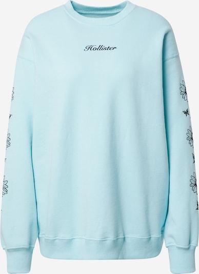 HOLLISTER Sweater majica u tirkiz / crna, Pregled proizvoda