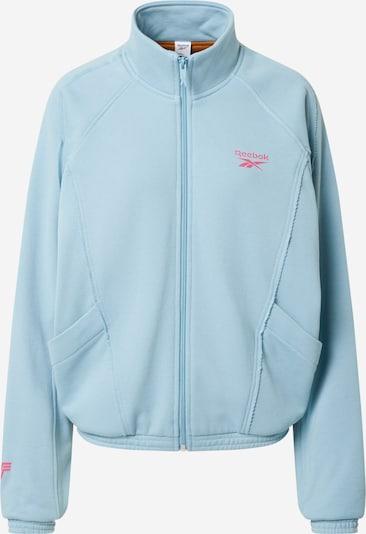 Reebok Classic Tussenjas in de kleur Lichtblauw / Pink, Productweergave