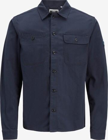 JACK & JONES Риза 'Ben' в синьо