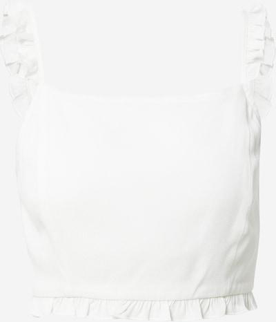 Top 'Jella' ABOUT YOU Limited pe alb murdar, Vizualizare produs