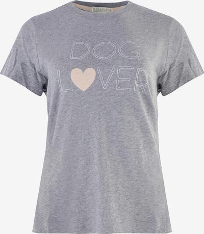 PJ Salvage Pajama Shirt 'Dog Lover' in mottled grey, Item view