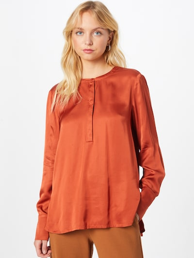 COMMA Blouse in Rusty red, View model