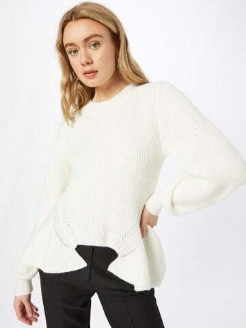 Twinset Kampsun, värv valge
