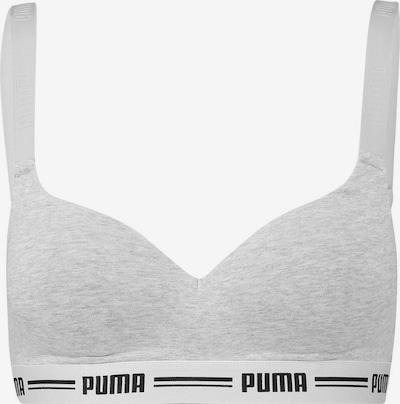 PUMA Soutien-gorge en gris clair / noir, Vue avec produit