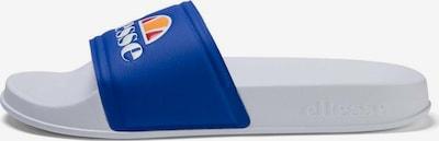 ELLESSE Claquettes / Tongs en orange / blanc, Vue avec produit