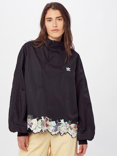 ADIDAS ORIGINALS Bluse in mischfarben / schwarz, Modelansicht