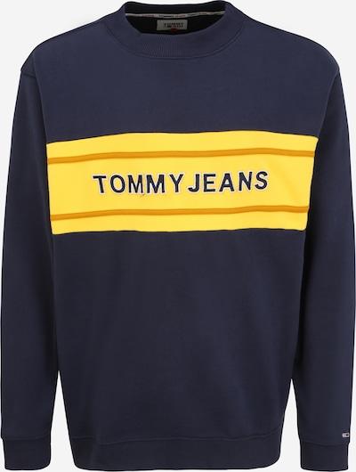 Tommy Jeans Plus Sweatshirt in Dark blue / Yellow / Light orange / White, Item view