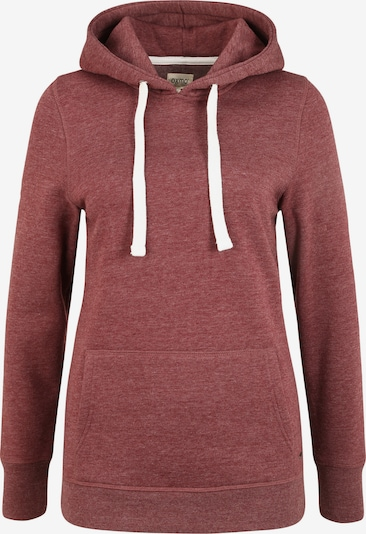 Oxmo Hoodie 'Olive' in rot, Produktansicht
