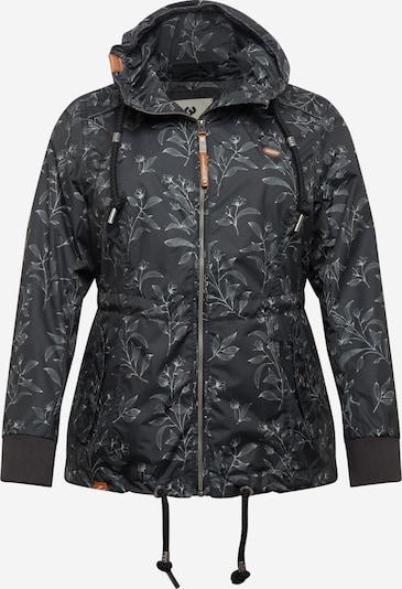 Ragwear Plus Between-season jacket 'DANKA' in Cream / Black, Item view