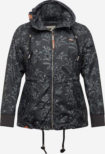 Ragwear Plus Jacke 'DANKA' in creme / schwarz, Produktansicht