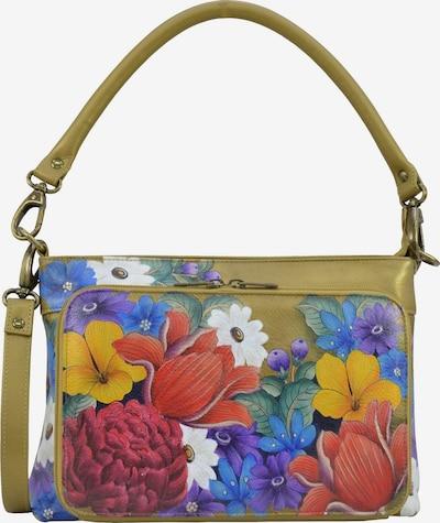 ANUSCHKA Schultertasche Dreamy Floral (handbemaltes Leder) in mischfarben, Produktansicht