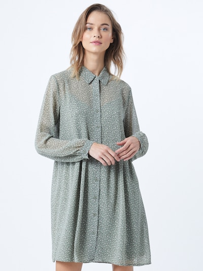EDC BY ESPRIT Kleid in khaki, Modelansicht
