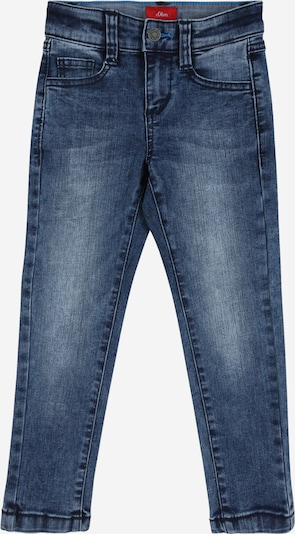 s.Oliver Junior Jeans 'BRAD' in blue denim, Produktansicht