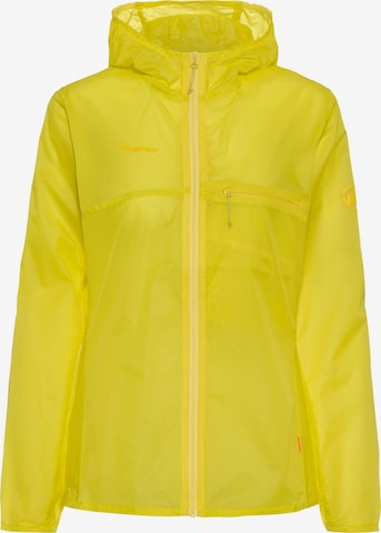 MAMMUT Outdoor Jacket 'Convey' in Yellow