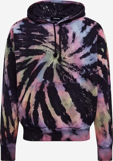 DIESEL Sweatshirt 'ALBY' in de kleur Gemengde kleuren / Zwart, Productweergave