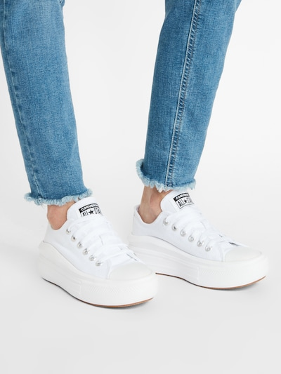 CONVERSE Sneaker 'Chuck Taylor All Star' in weiß: Frontalansicht