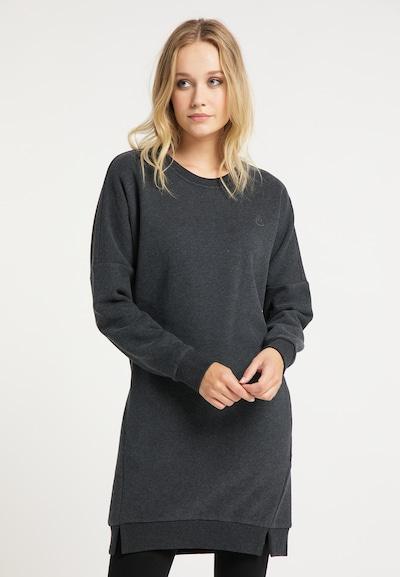 DreiMaster Vintage Robe en gris foncé: Vue de face