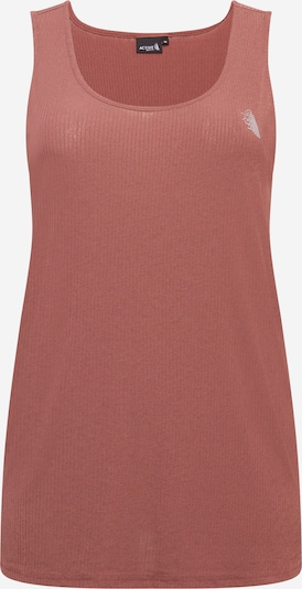 Sportiniai marškinėliai be rankovių 'NADIA' iš Active by Zizzi , spalva - ruda, Prekių apžvalga