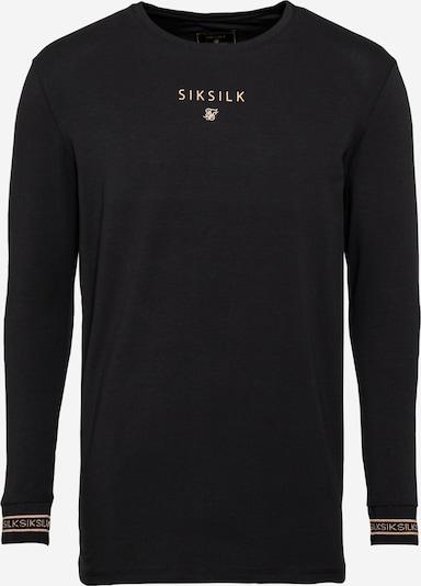SikSilk Тениска в злато / черно, Преглед на продукта