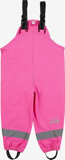 STERNTALER Regenträgerhose in pink / schwarz / silber, Produktansicht