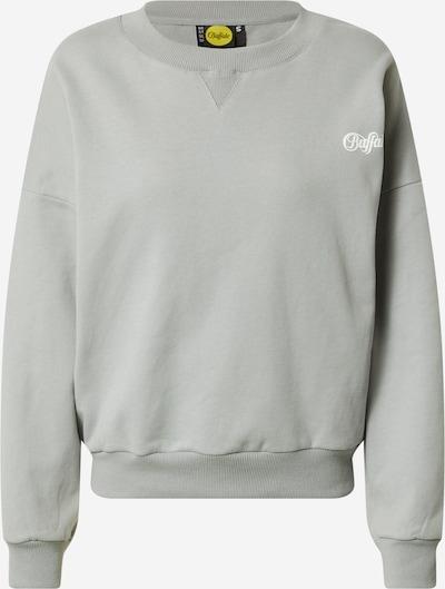 Buffalo Apparel Sweat-shirt 'ADINA' en gris / blanc, Vue avec produit