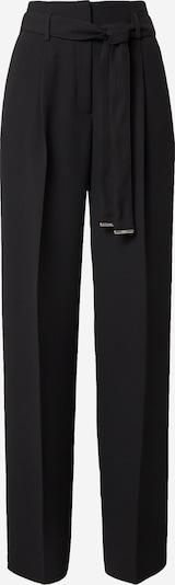 Klostuotos kelnės 'Hasou' iš HUGO, spalva – juoda, Prekių apžvalga