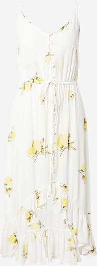 Tally Weijl Kleid in creme / braun / gelb / weiß, Produktansicht