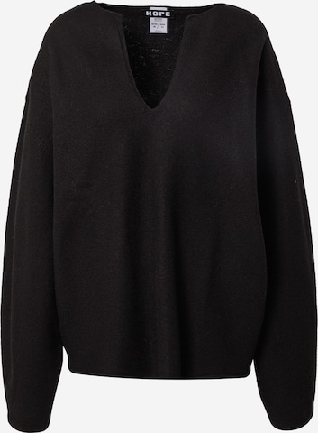 HOPE Pullover  'Expand' in Schwarz