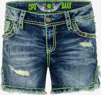 CIPO & BAXX Jeans-Shorts 'Lined Up' in blau, Produktansicht