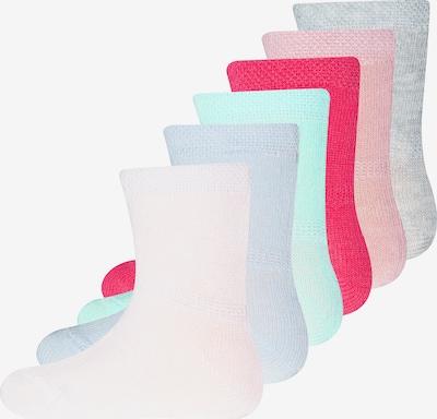 EWERS Skarpety w kolorze jasnoniebieski / nakrapiany szary / różowy / różowy pudrowy / białym, Podgląd produktu