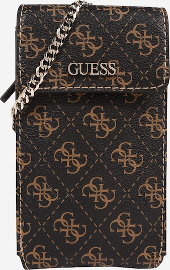 GUESS Smartphone case 'Picnic Chit Chat' in Chocolate / Light brown, Item view