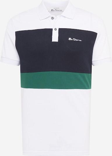 sötétkék / zöld / fehér Ben Sherman Póló, Termék nézet