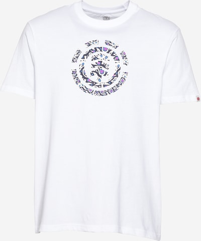 Tricou ELEMENT pe albastru marin / azuriu / roz / alb natural, Vizualizare produs
