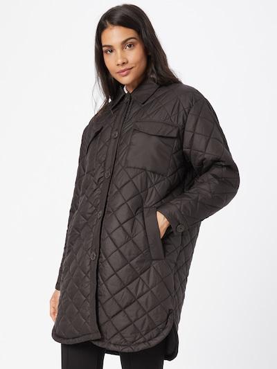 Demisezoninis paltas 'TANZIA' iš ONLY, spalva – juoda, Modelio vaizdas