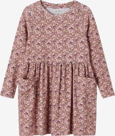NAME IT Dress 'Kinda' in Brown / Plum / Mixed colors / Powder / White, Item view