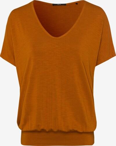 zero Shirt in dunkelorange, Produktansicht