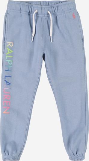 POLO RALPH LAUREN Pantalon en bleu fumé / bleu roi / pomme / rose, Vue avec produit