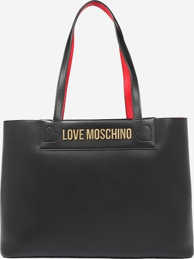 Plase de cumpărături Love Moschino pe negru, Vizualizare produs