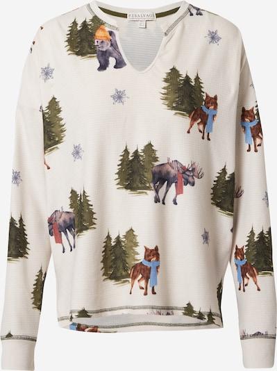 PJ Salvage Slaapshirt in de kleur Greige / Gemengde kleuren, Productweergave