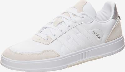 ADIDAS PERFORMANCE Chaussure de sport 'Courtmaster' en nude / blanc, Vue avec produit