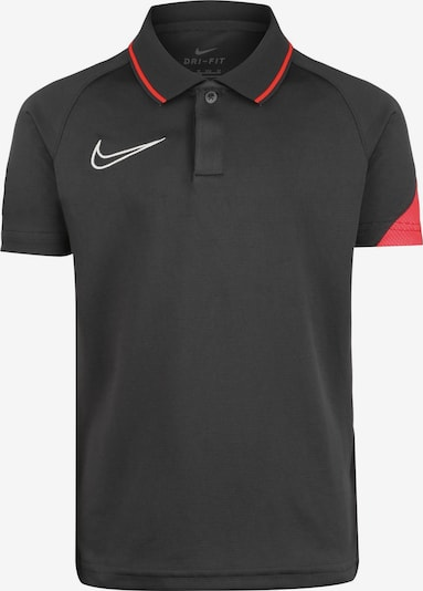 NIKE Poloshirt in rot / schwarz, Produktansicht