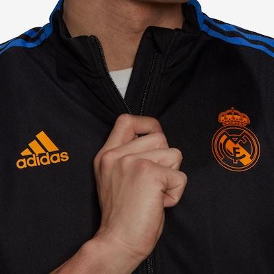 ADIDAS PERFORMANCE Real Madrid Trainingsanzug Herren in schwarz, Produktansicht