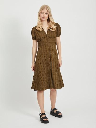 VILA Kleid in braun: Frontalansicht