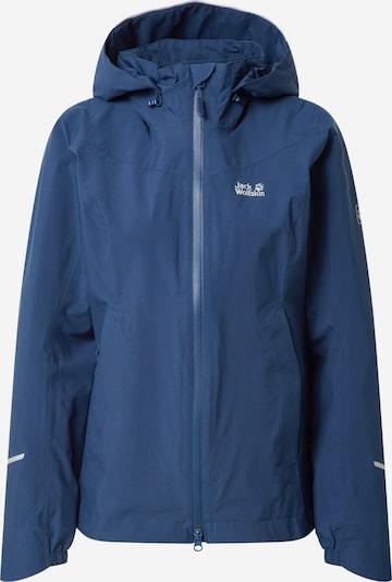 JACK WOLFSKIN Outdoorjas 'Atlas Tour' in de kleur Blauw / Indigo, Productweergave