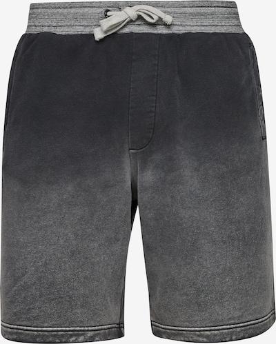 Q/S by s.Oliver Pantalon en gris denim / noir, Vue avec produit