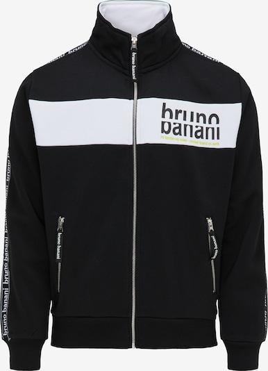 BRUNO BANANI Sweatjacke in schwarz, Produktansicht