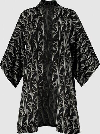 Ulla Popken Kimono in schwarz, Produktansicht